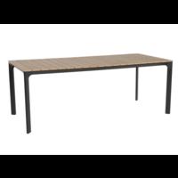 thumb-Tuintafel - Arezzo - Aluminium/Polywood - 200x90 cm - Lesli Living-2