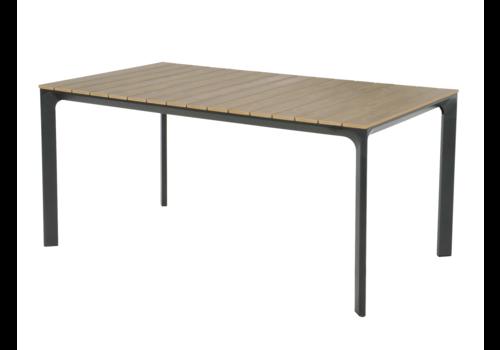Tuintafel - Arezzo - Aluminium/Polywood - 160x90 cm - Lesli Living