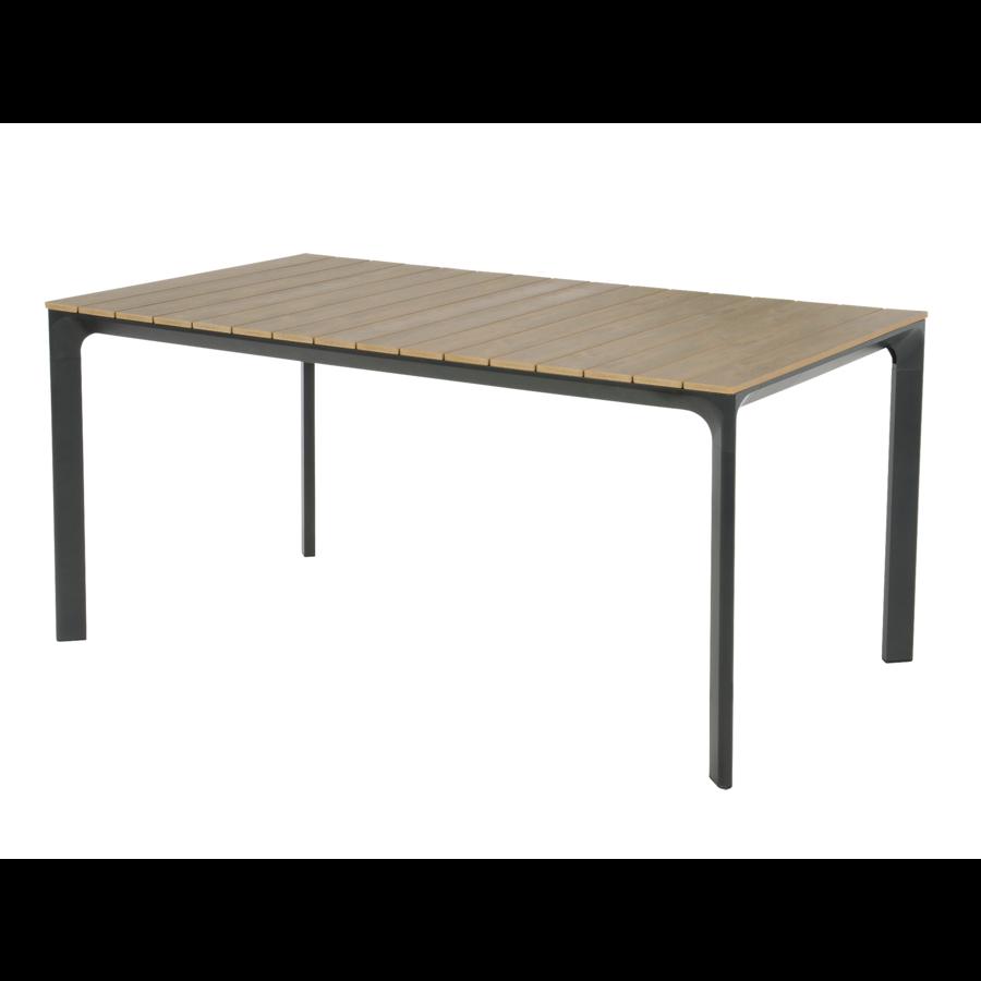 Tuintafel - Arezzo - Aluminium/Polywood - 160x90 cm - Lesli Living-1