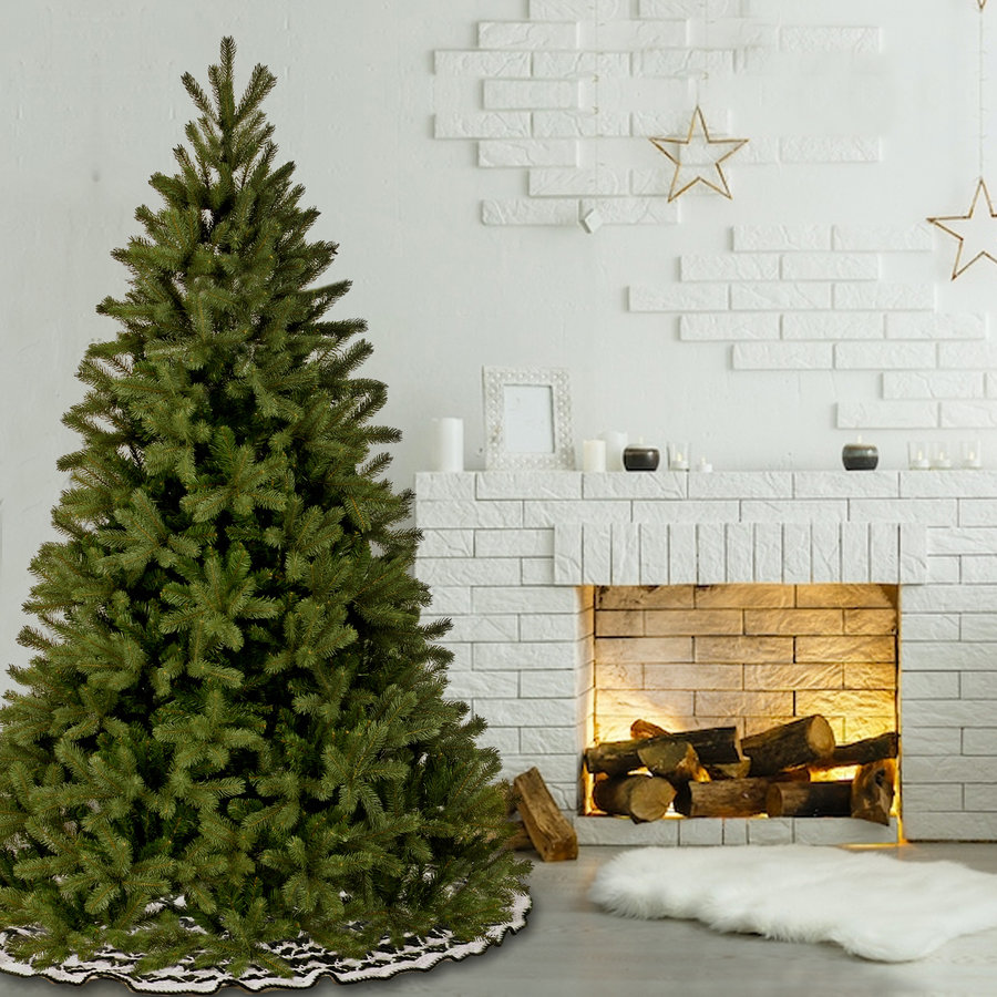 Kunstkerstboom - Poly Bayberry - 213 cm - Hinged - PE/PVC -  National Tree Company-4