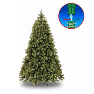 National Tree Company Kunstkerstboom - Poly Bayberry - Hinged -  Power Connect - 213 cm - 550L