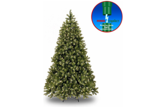 Kunstkerstboom - Poly Bayberry - Hinged -  Power Connect - 213 cm - 550L