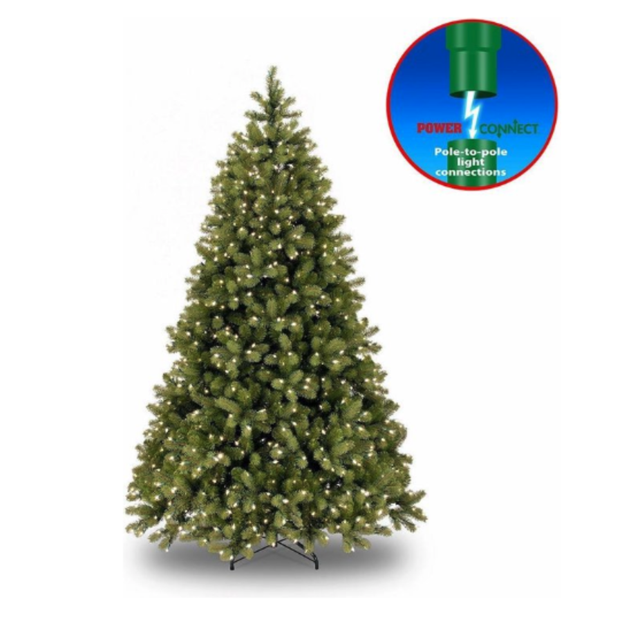 Kunstkerstboom - Poly Bayberry - Hinged -  Power Connect - 213 cm - 550L-1