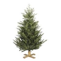 Kunstkerstboom - Arkansas - 152 cm  - PE/PVC - Houten Voet - Our Nordic  Christmas