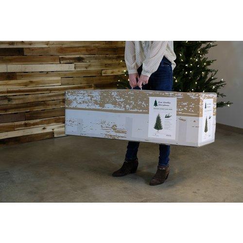 Our Nordic Christmas by Van Der Gucht Kunstkerstboom - Arkansas - 183 cm - PE/PVC - Houten Voet - Our Nordic  Christmas