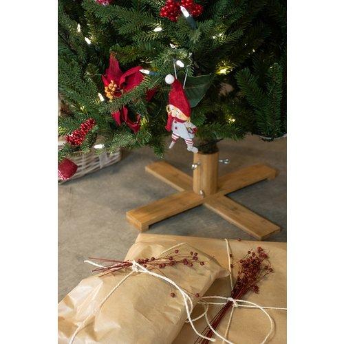 Our Nordic Christmas by Van Der Gucht Kunstkerstboom - Arkansas - 228 cm - PE/PVC - Houten Voet - Our Nordic  Christmas
