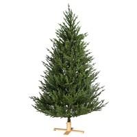 Kunstkerstboom - Arkansas - 213 cm - PE/PVC - Houten Voet - Our Nordic  Christmas