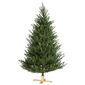 Our Nordic Christmas by Van Der Gucht Kunstkerstboom - Arkansas - 213 cm - PE/PVC - Houten Voet - Our Nordic  Christmas