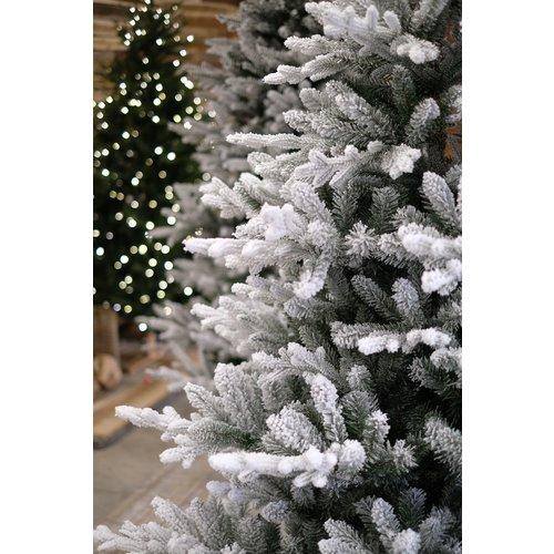 Our Nordic Christmas by Van Der Gucht Kunstkerstboom met Sneeuw - Tolga Flocked - 213 cm - Our Nordic Christmas
