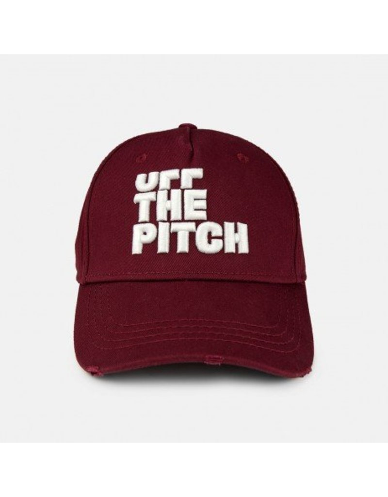 Off The Pitch OFF THE PITCH Maroon White 3D Cap