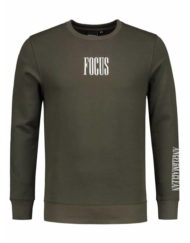 Angel&Maclean ANGEL&MACLEAN FOCUS Army Crewneck