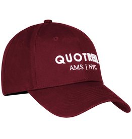 Quotrell QUOTRELL Cap Bordeaux/White
