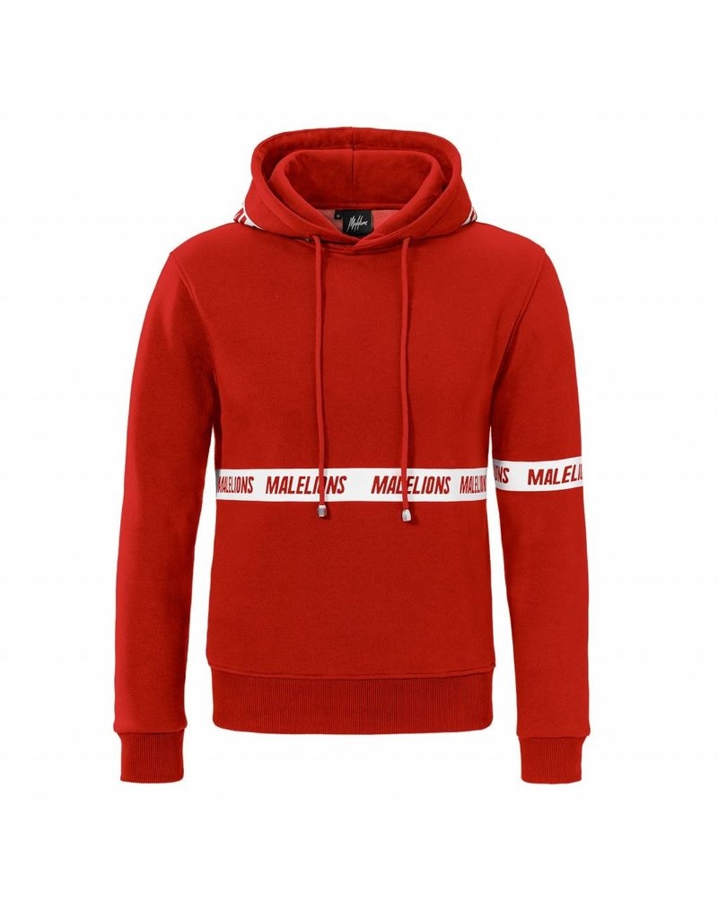 Malelions Malelions Captain Hoodie Red