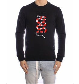 Conflict CONFLICT Snake Sweater Black