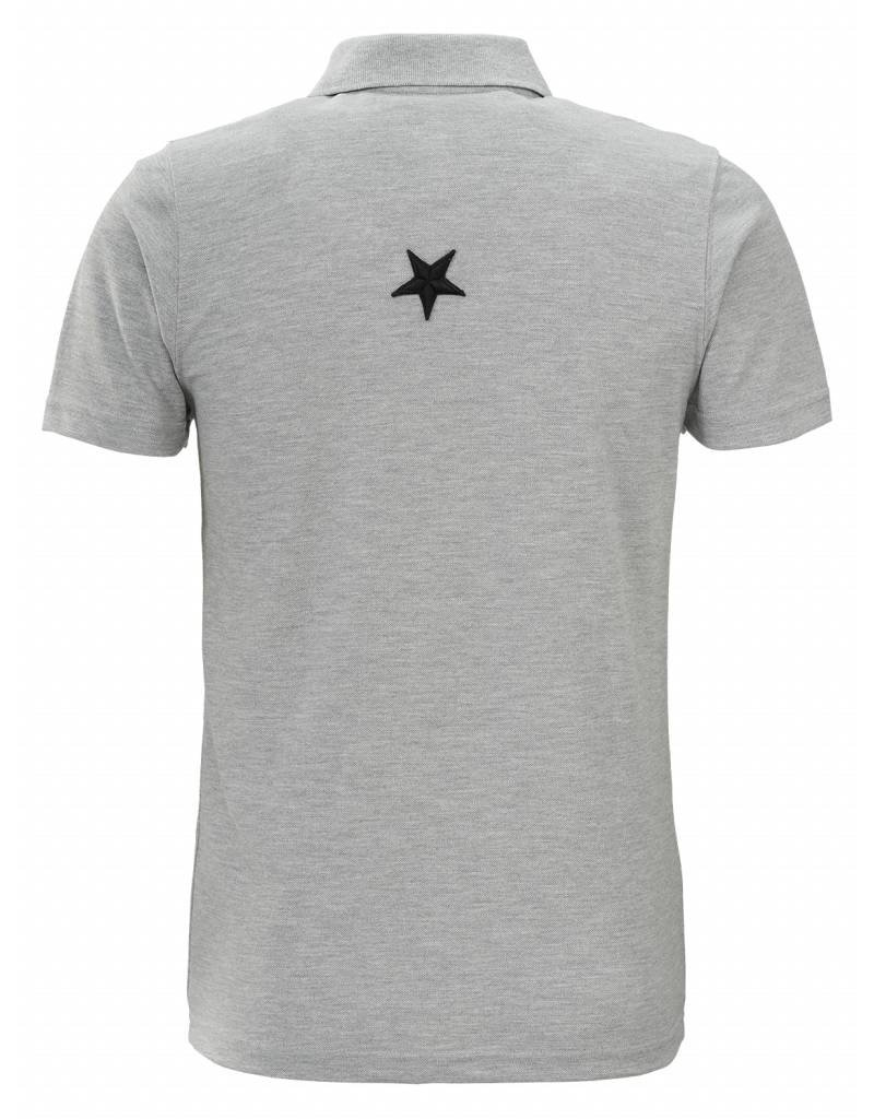 Conflict CONFLICT Metal Star Polo GREY