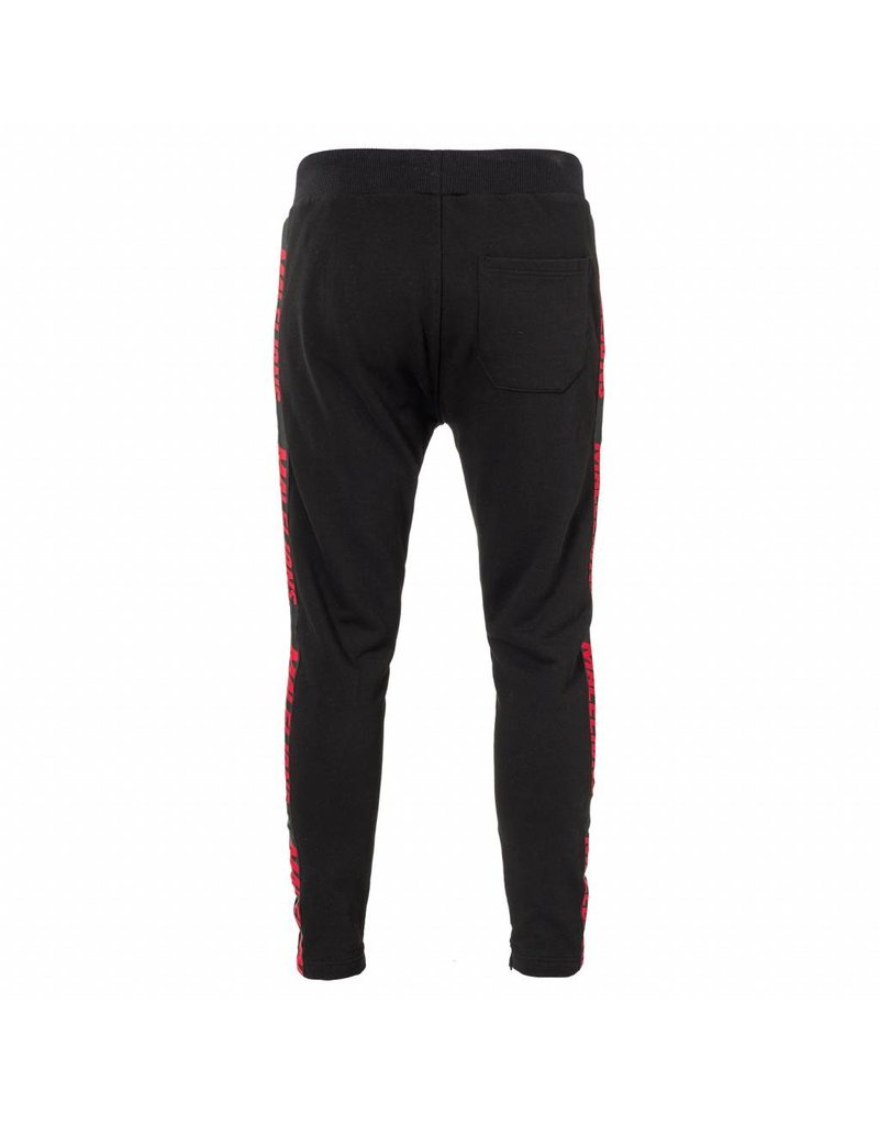 Malelions Malelions Taped Jogger Black/Red