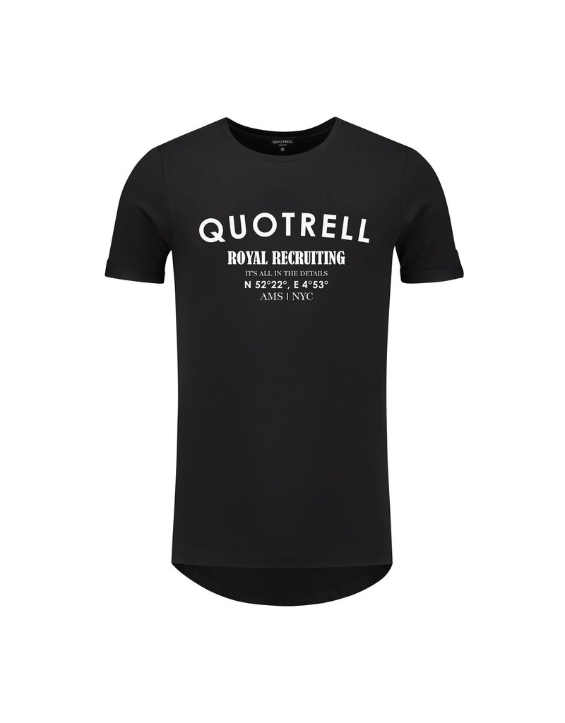 Quotrell QUOTRELL Recruiting Tee Black
