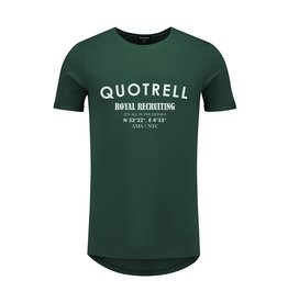 Quotrell QUOTRELL Recruiting Tee Petrol