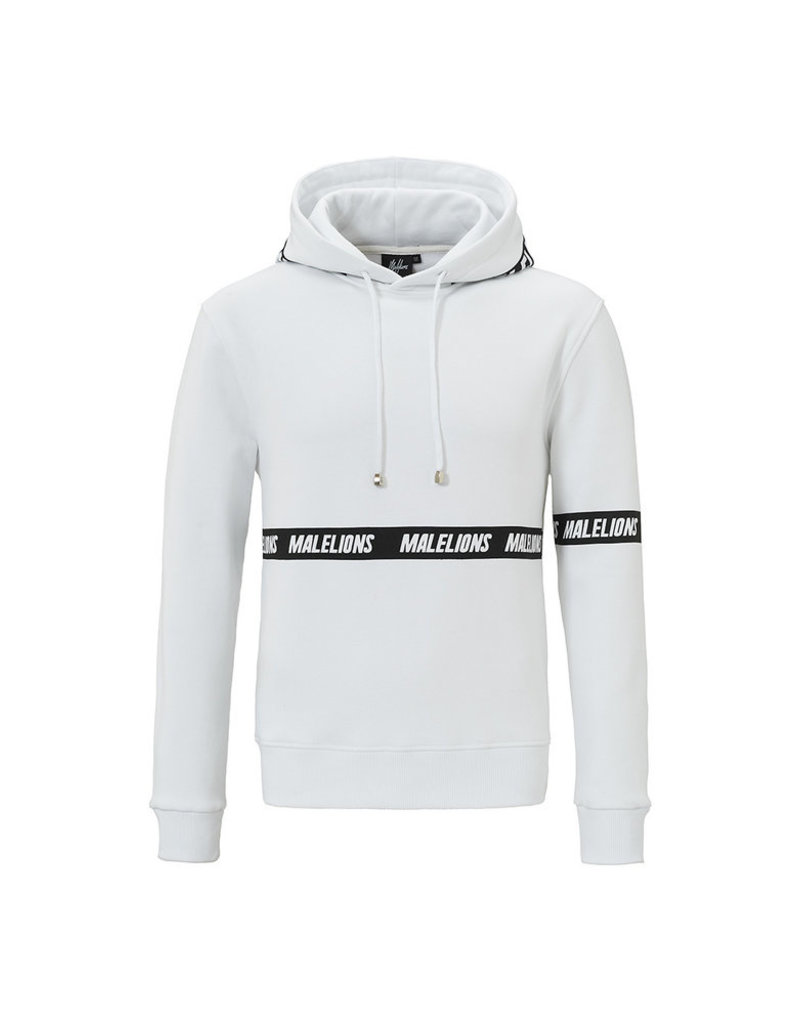 Malelions Malelions Captain Hoodie White