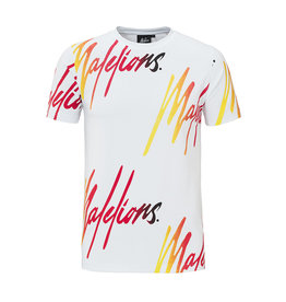 Malelions Malelions Signature Tee White/Gradient