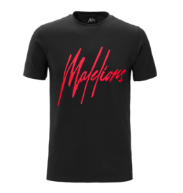 Malelions Malelions Signature Tee Black/Red