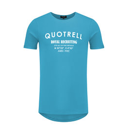 Quotrell QUOTRELL Recruiting Tee Azure