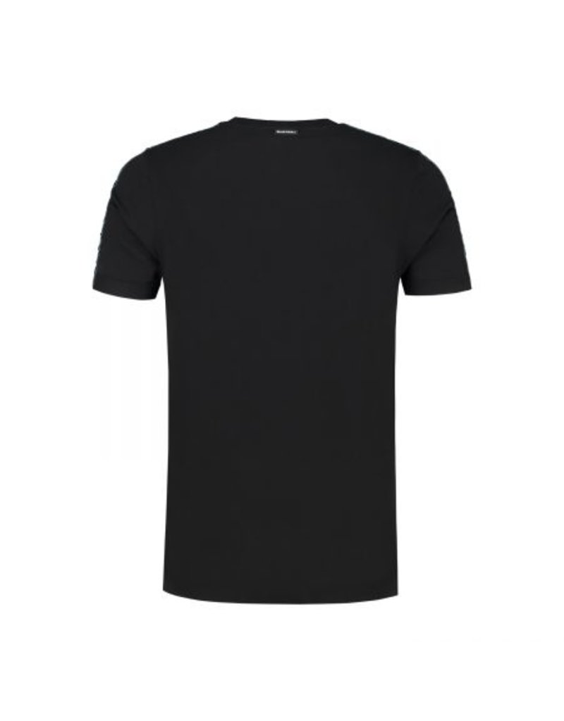 Quotrell QUOTRELL Taped Tee Black/Fuschia