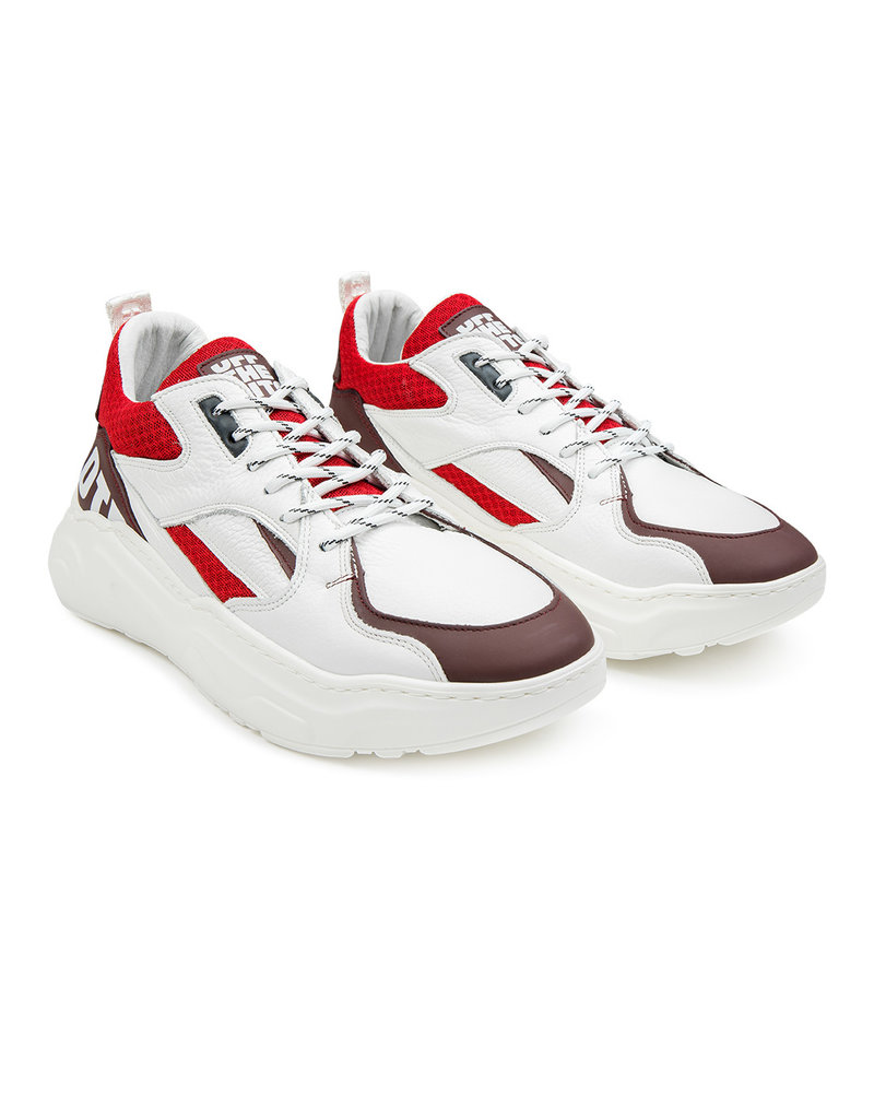 Off The Pitch Off The Pitch Cross Runner White/Red