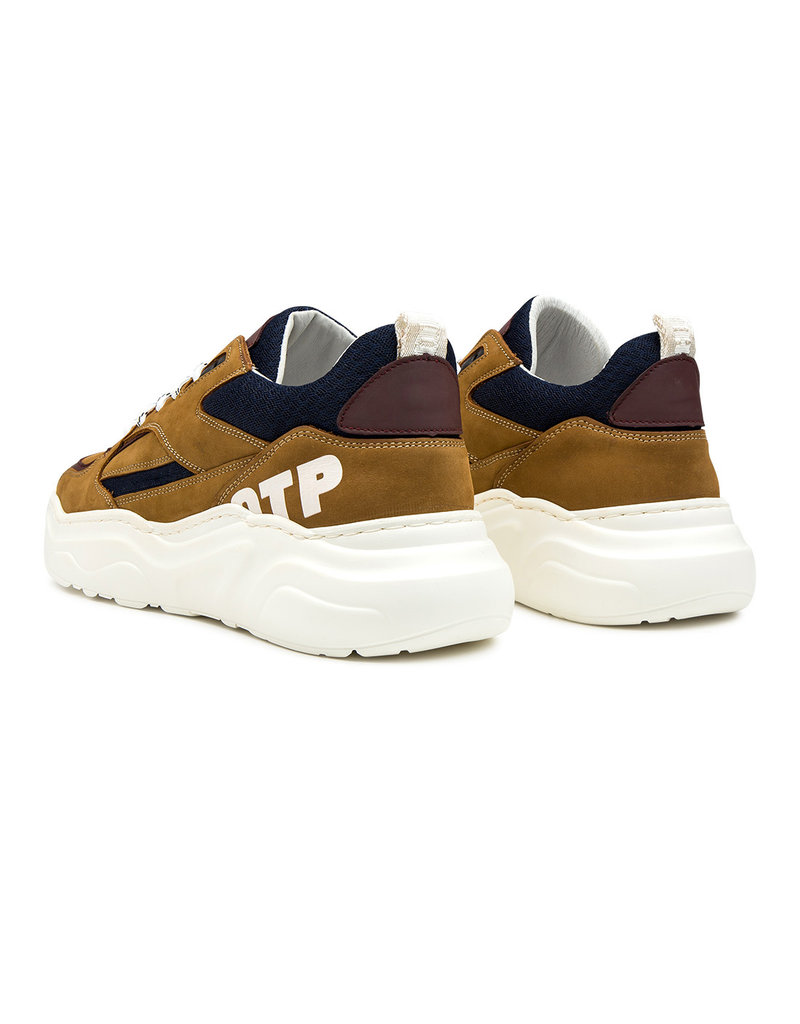 Off The Pitch Off The Pitch Cross Runner Cognac/Navy