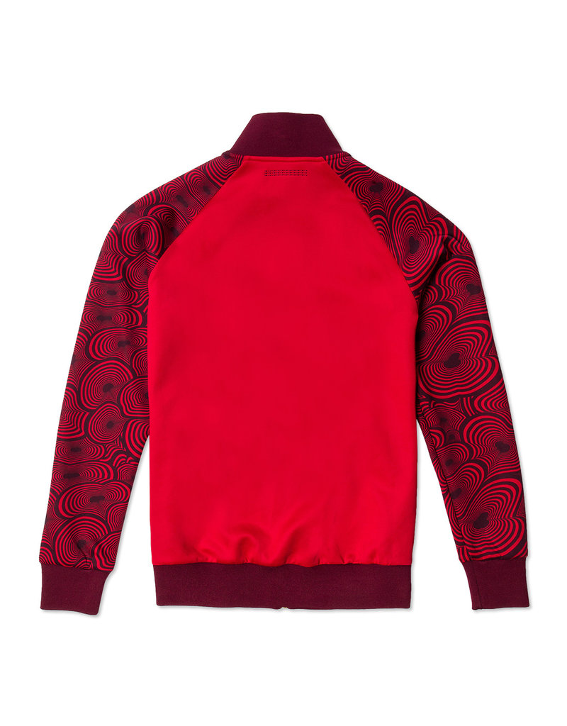 Off The Pitch OFF THE PITCH Bound Jacket Red