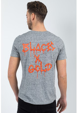 Black & Gold Black & Gold Dossografitas Tee Grey