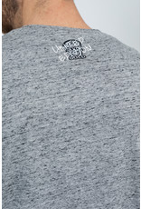 Black & Gold Craneo Grafittos Tee Grey