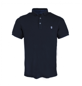 Black & Gold Black & Gold Basic Polo Navy