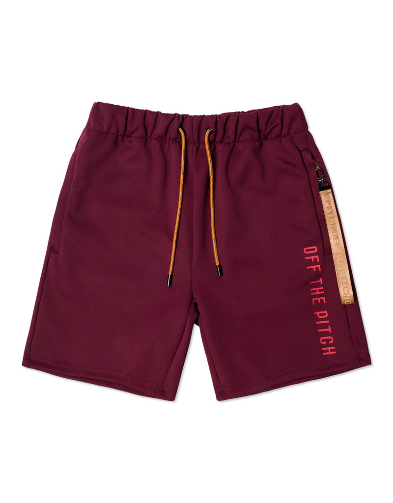 Off The Pitch OFF THE PITCH Bound Shorts Bordeaux