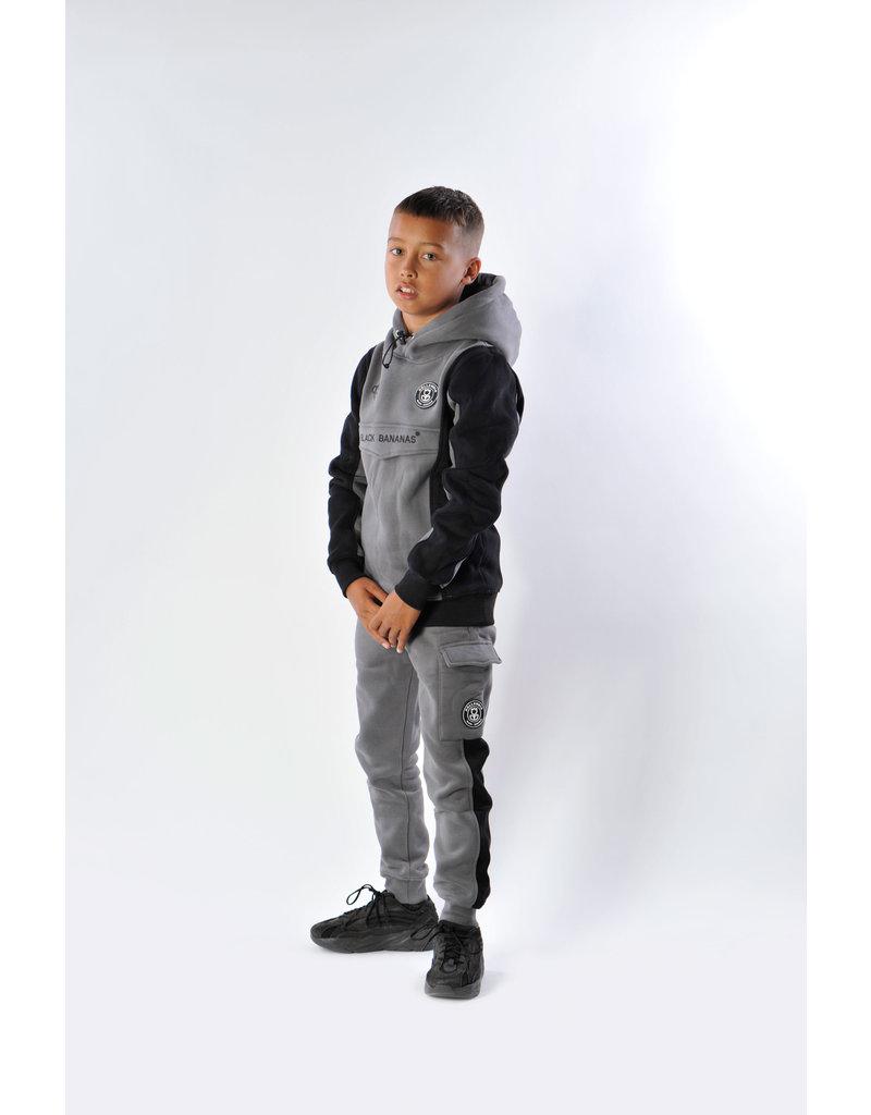 Black Bananas BLCK BNNS Kids Anorak Block Jogger Grey