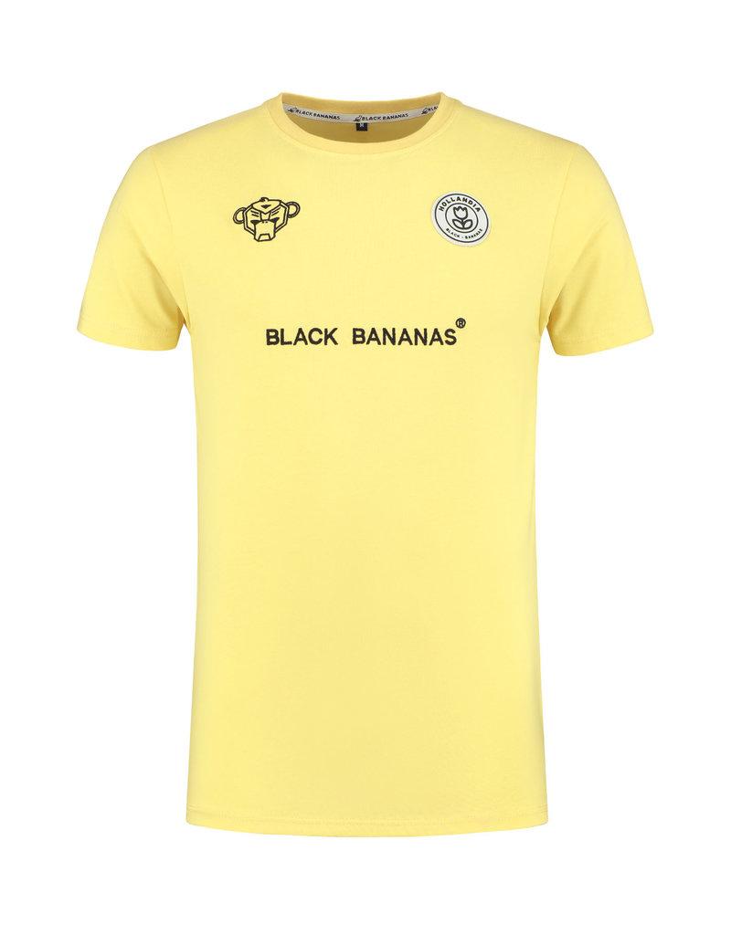 Black Bananas BLCK BNNS F.C. Basic Tee Yellow