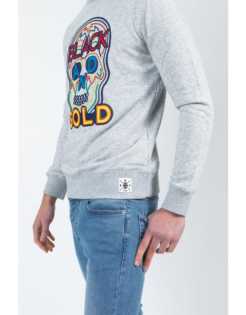 Black & Gold Black & Gold Craneo Popas Sweater Grey