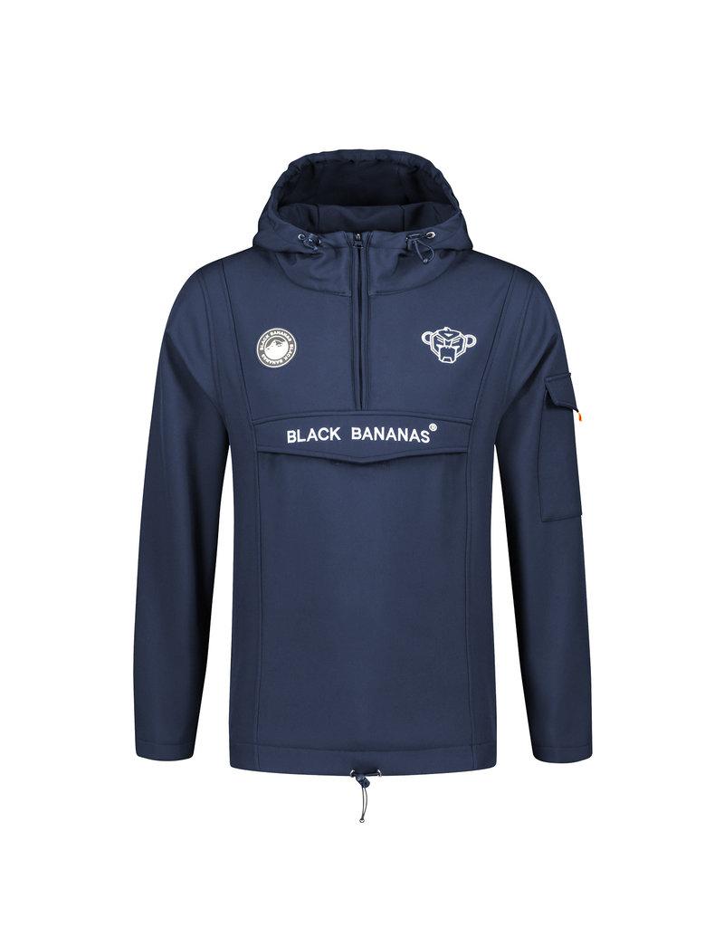 Black Bananas BLCK BNNS Anorak Softshell Jacket Navy