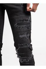 XPLCT Studios XPLCT Biker Jeans Black