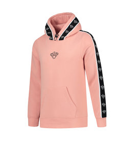 Black Bananas BLCK BNNS Taped Hoodie Peach