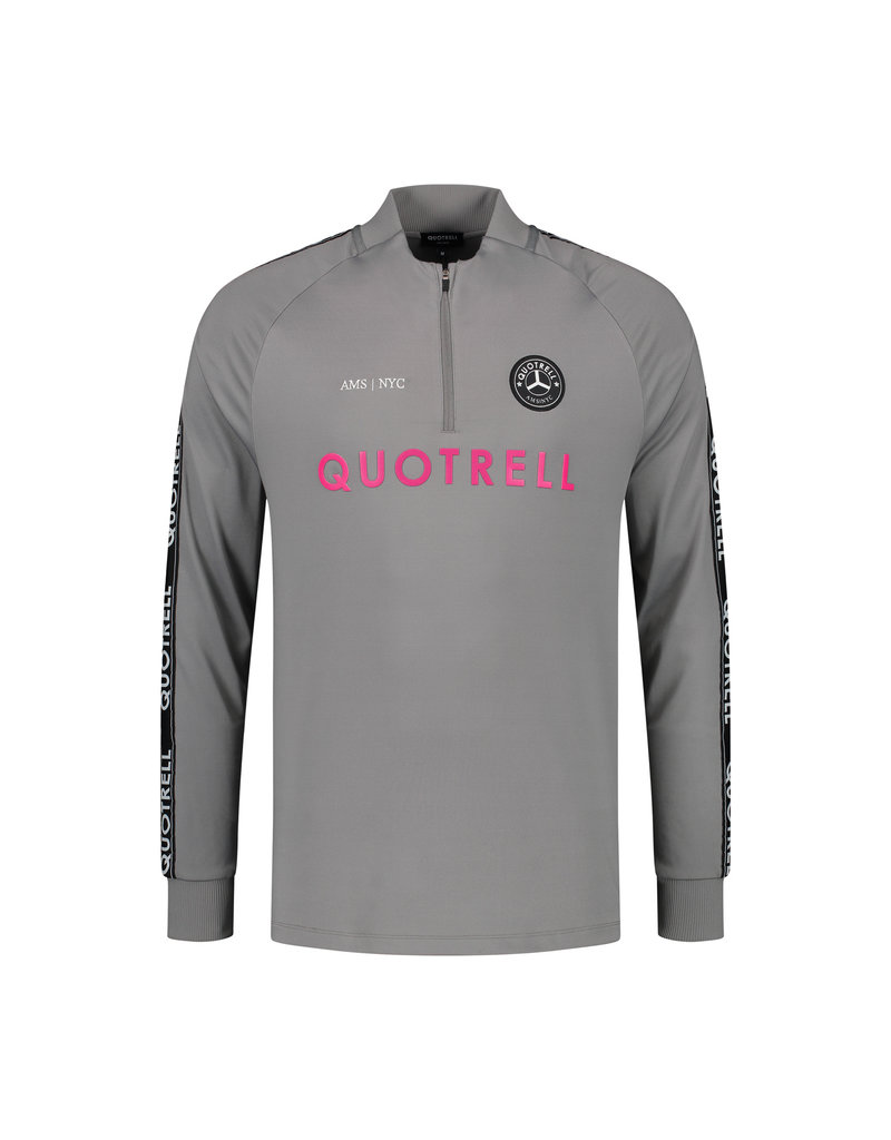 Quotrell QUOTRELL Trashsuit Grey/Fuschia