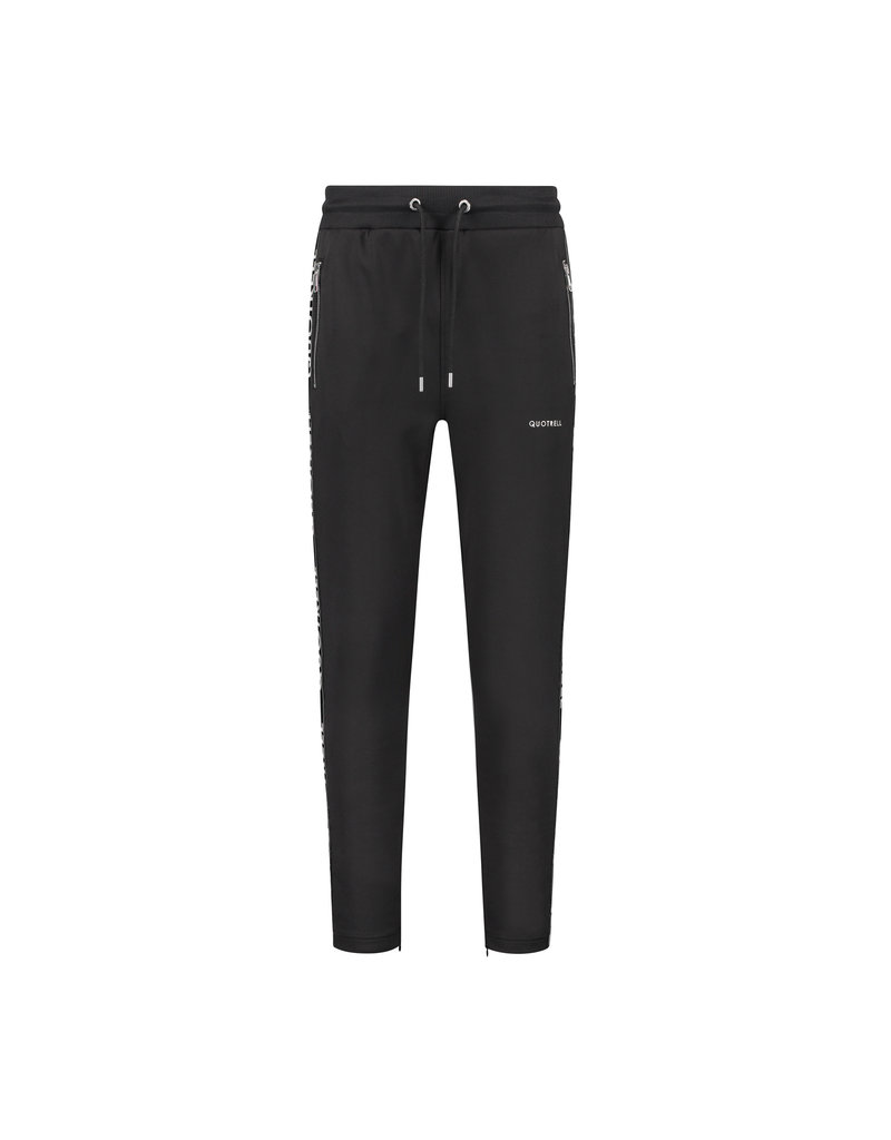 Quotrell QUOTRELL Admiral Tracksuit Black/White
