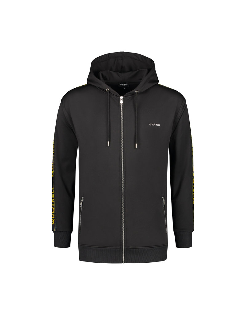 Quotrell QUOTRELL Admiral Tracksuit Black/Yellow