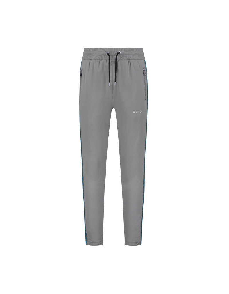 Quotrell QUOTRELL Admiral Tracksuit Light Grey/Baby Blue