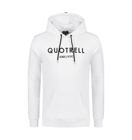 Quotrell QUOTRELL Basic Hoodie White/Black