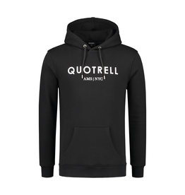 Quotrell QUOTRELL Basic Hoodie Black/White