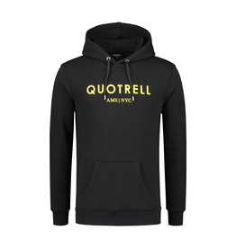 Quotrell QUOTRELL Basic Hoodie Black/Yellow