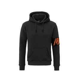 Malelions Malelions Captain Hoodie 2.0 Black/Orange