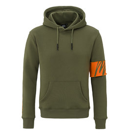 Malelions Malelions Captain Hoodie 2.0 Army/Orange