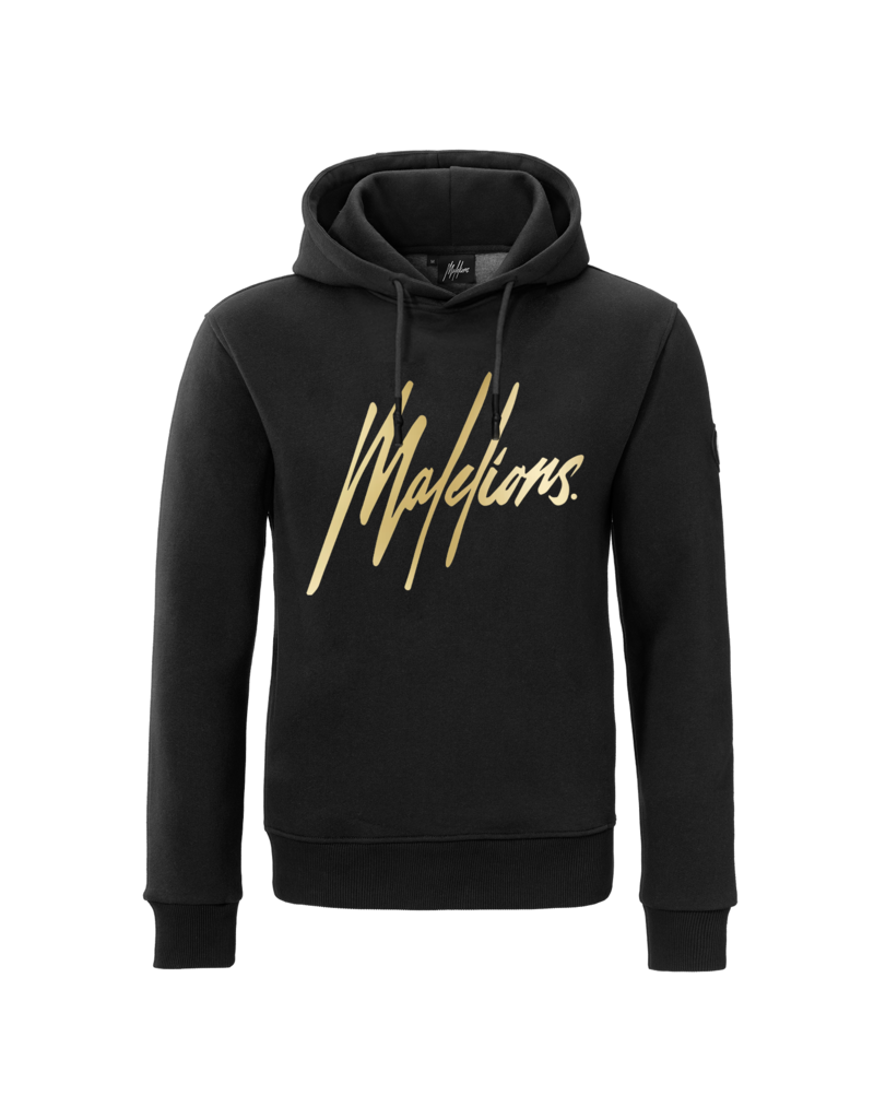 Malelions Malelions Hoodie Black/Gold